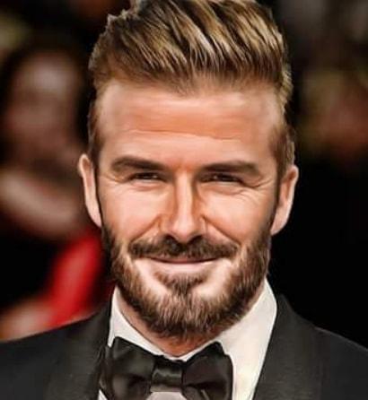 Comb Back - David Beckham Hairstyle