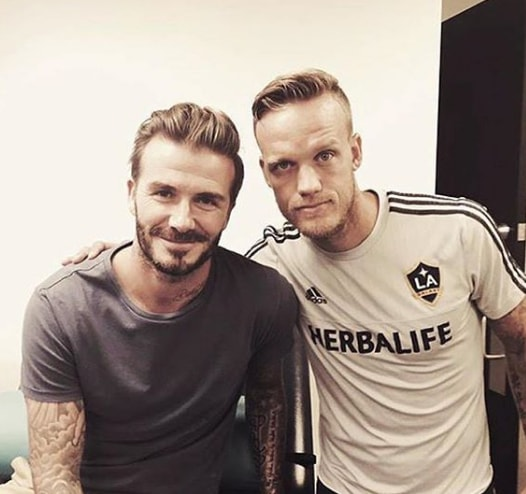 Comb Over David Beckham Hairstyle