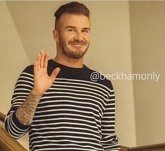 Undercut with Comb Over - David Beckham Hairstyle