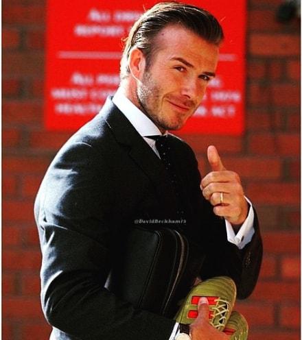 David Beckham Hairstyles 2018