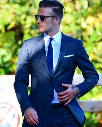 Cool David Beckham Hairstyle 2018