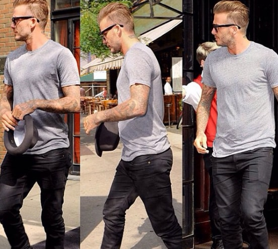 David Beckham Short Hairstyle