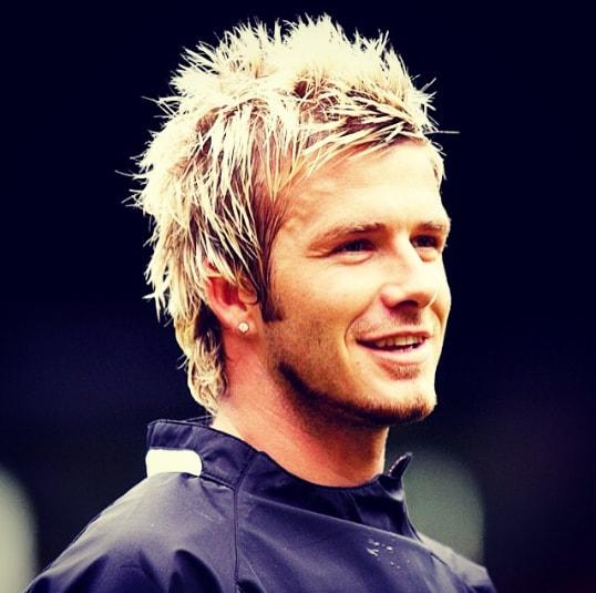 David Beckham Hair With Textured Fringe