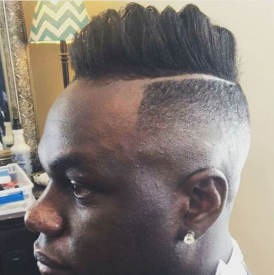 High And Tight Faux Hawk