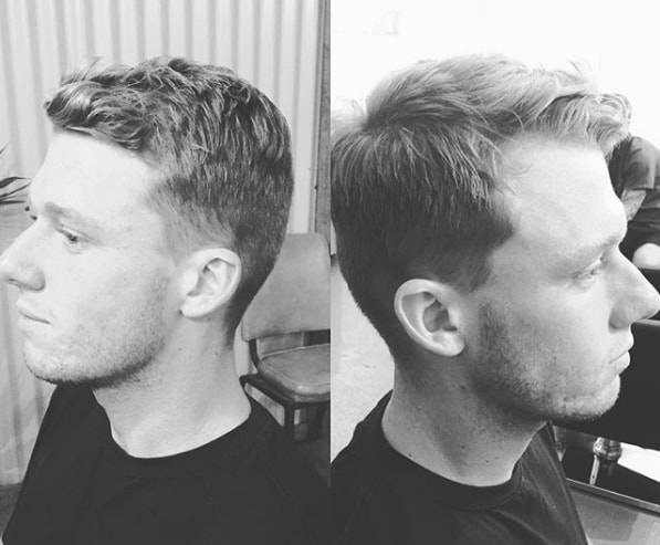 Harvard Cut With Textured Side Part