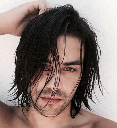 Shoulder Length Bob Men Hairstyle