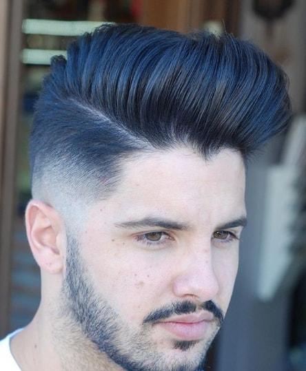 Long Pompadour Men Hairstyle
