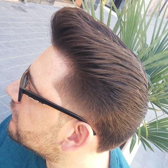 Popular Medium Length Men Hairstyle 2018