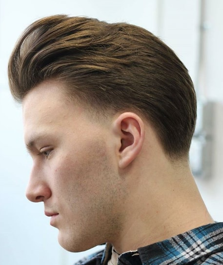 Texture Following Hairstyle for Men