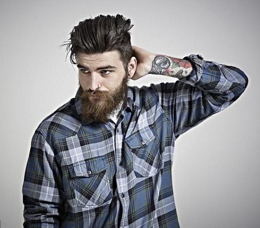 Medium Length Men Hairstyle