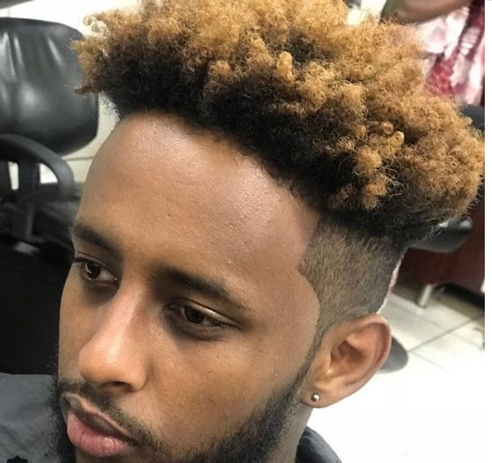 Messy High Top Combined With Angular Fade