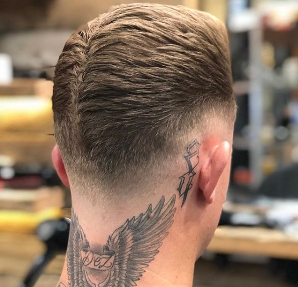 Unique Low Fade With Design