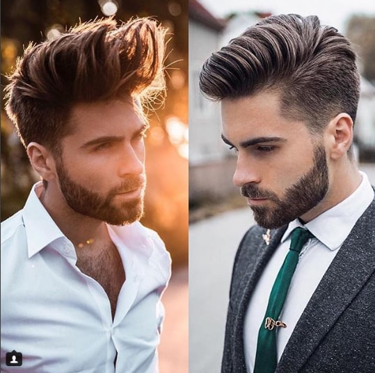 Tidal Wave Comb Over Men Hairstyle