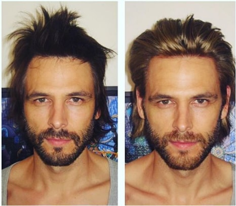 Unkempt Long Hairstyle