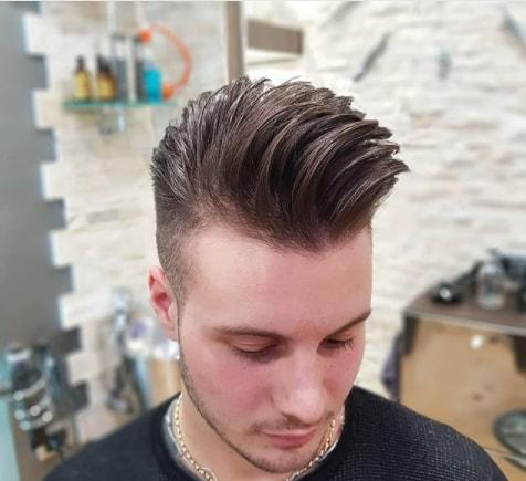 Wavy Quiff Haircut For Men