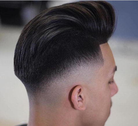Long Pomp With Undercut Men Hairstyle