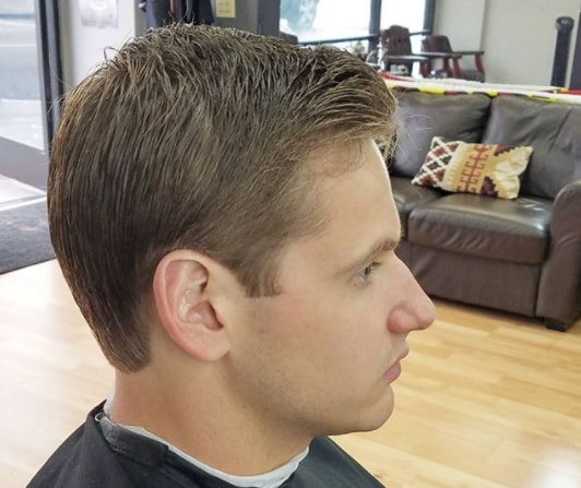 Modern Short Haircut for Men
