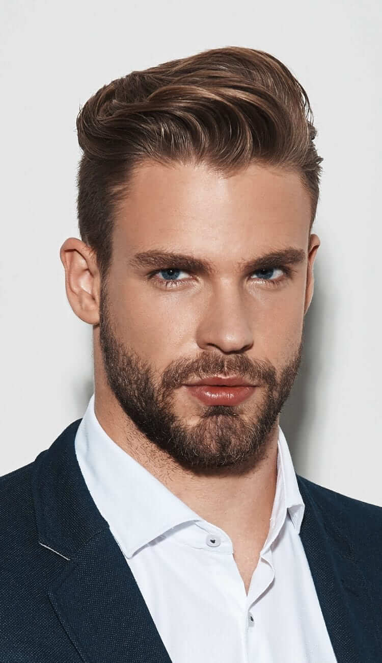 Slicked Back -Top Charming Hairstyles For Men With Straight Hair