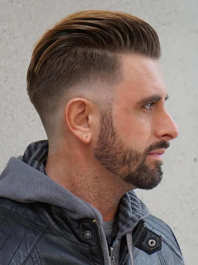 Suave Slicked Back-Top Charming Hairstyles For Men With Straight Hair