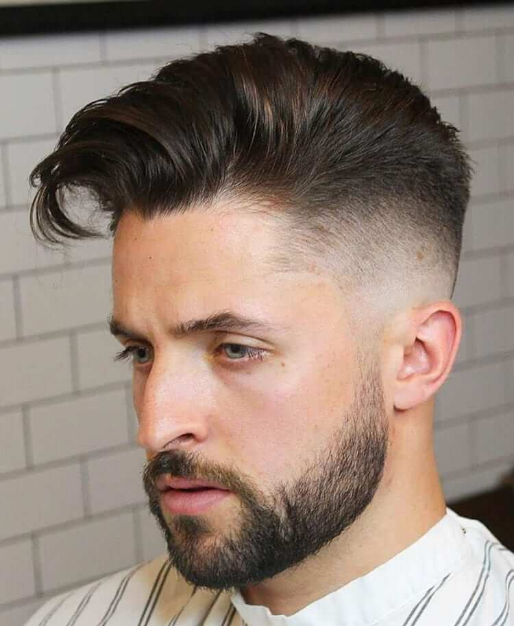 Undercut -Top Charming Hairstyles For Men With Straight Hair